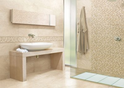 Ivory Travertine Floor Tiles