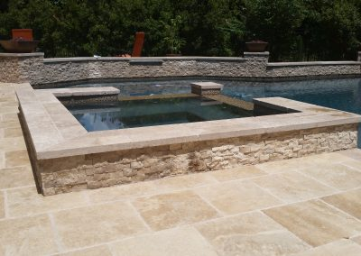 Travertine Pool Coping Tiles