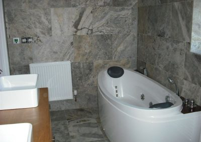 Silver Travertine Bathroom Tiles