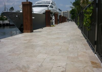French-pattern-travertine-patio-contemporary-with-stone-tiles